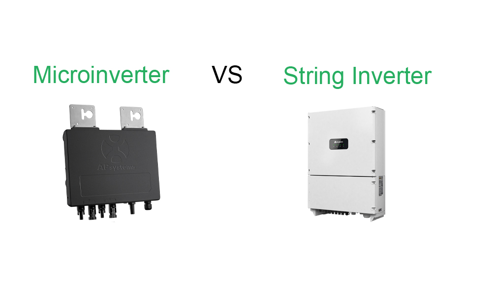 solar panel string inverter versus micro inverters and optimizers