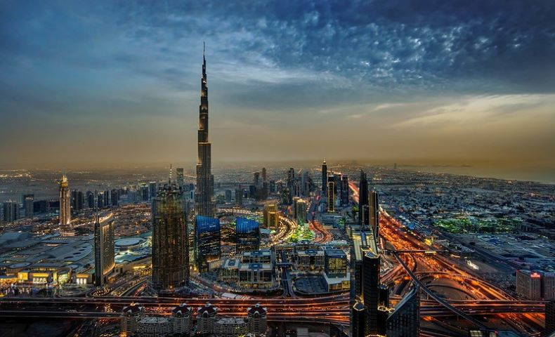 Burj Khalifa solar