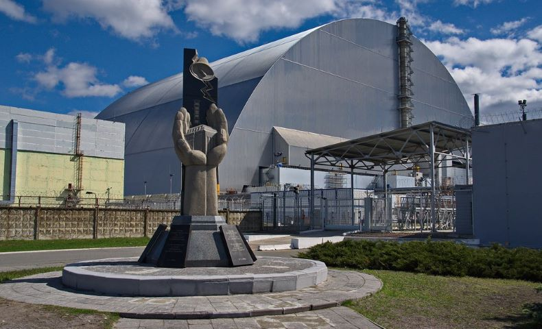 Chernobyl makes up for past mistakes by installing solar farm.