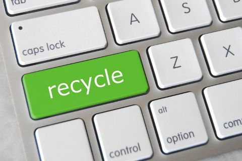 Recycle solar waste