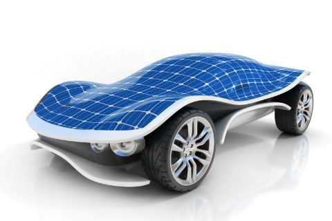 Carmaker Putting Solar Cells on Its Electric Cars
