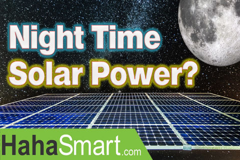 A New Solar Cell That Generates Power at Night!